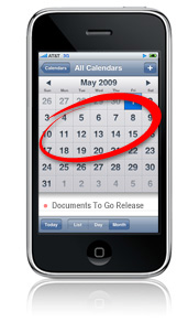 Documents To Go for iPhone coming in early to mid May!